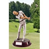 THE FEMALE GOLF FIGURE Silverline