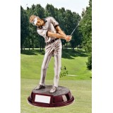 THE MALE GOLF FIGURE Silverline