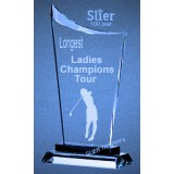 Elenor Glas Golf Dames