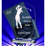 Eunice Glas Golf Dames